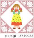 イラスト 人物 女の子のイラスト 8750022