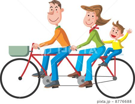 タンデム自転車の写真素材 ...