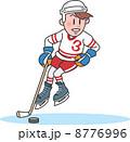 アイスホッケー選手 スポーツ選手 アイスホッケーのイラスト 8776996