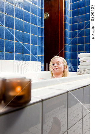 Female in 1920s Spa and Bathの写真素材 [8800407] - PIXTA