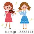 演奏会 音楽会 子供のイラスト 8882543