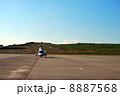 ヘリコプター ヘリ 駐機場の写真 8887568