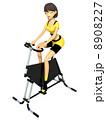 エクササイズ フィットネス トレーニングのイラスト 8908227