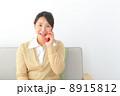 通話 人物 笑顔の写真 8915812