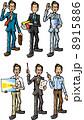 会社員 営業マン ベクターのイラスト 8915886