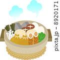 具材 ベクター 料理のイラスト 8920171