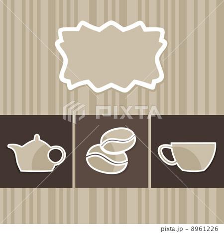 Coffee menu3のイラスト素材 [8961226] - PIXTA