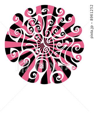 年賀状2015『サイケデリック(サークル)』のイラスト素材 [8961252] - PIXTA