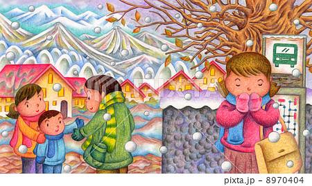 冬の風景 8970404