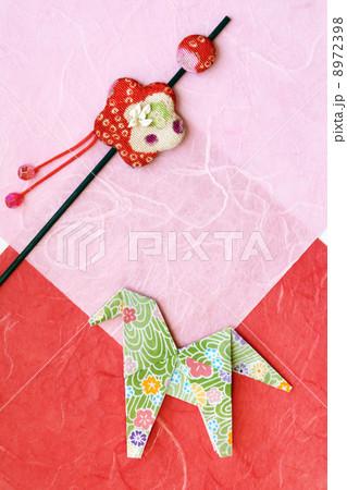 午 馬の折り紙 8972398