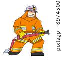 消防士さん(オレンジ色) 8974500