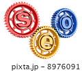 SEO. Search engine optimization. Conceptual image. 8976091