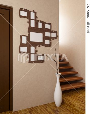 Photograph puzzle frameのイラスト素材 [9005197] - PIXTA
