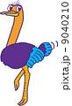 ダチョウ 鳥類 鳥のイラスト 9040210
