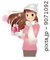 バレンタインデーのイメージイラスト。 9071092