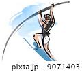 棒高跳び 9071403