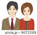 夫婦 恋人 カップル  9072589