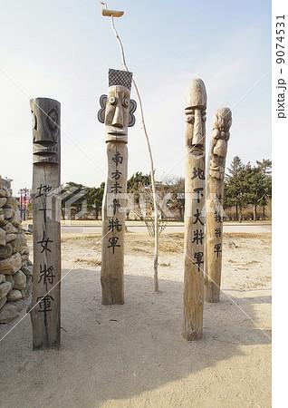 韓国の守り神 チャンスン 9074531