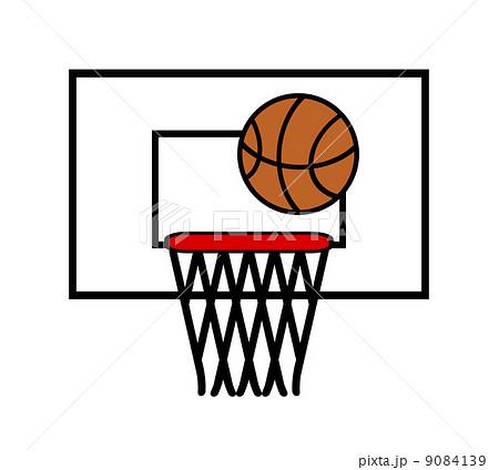 バスケットシュートのイラスト素材 9084139 Pixta