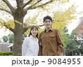 夫婦 カップル 紅葉の写真 9084955