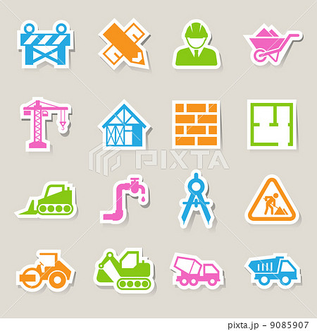Construction Icons set 9085907