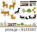 奈良の風景の素材 9135067