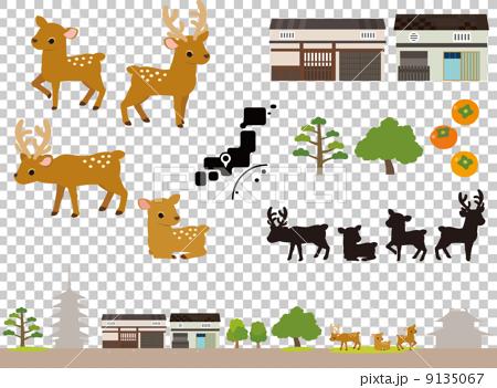 Nara scenery material 9135067