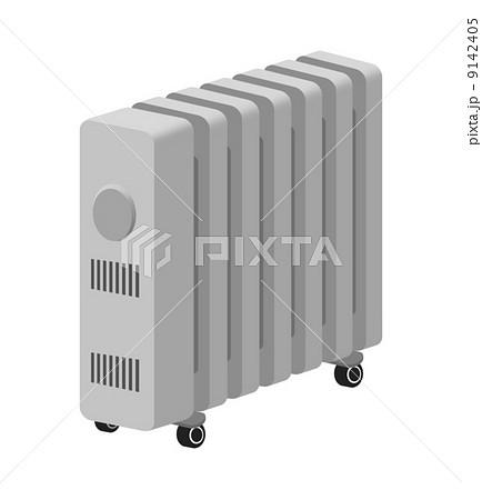 オイルヒーターのイラスト素材 [9142405] - PIXTA