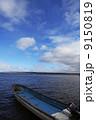 網走湖の漁船 9150819