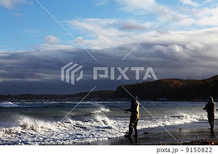 鮭釣り 9150822