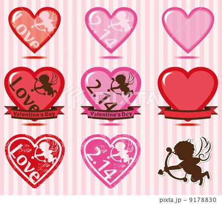 バレンタイン 素材 9178830