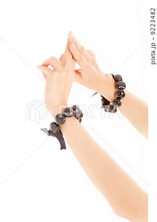 フラダンスの特徴的な手で星を象るポーズ 9223482