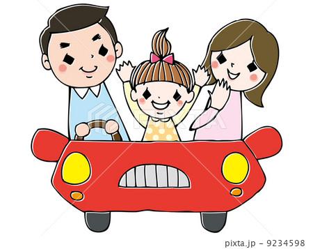 家族でドライブ 9234598