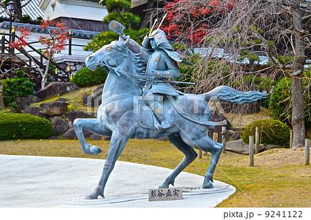 熊谷次郎直実の騎馬像(源平の庭・須磨寺/兵庫県神戸市須磨区須磨寺町) 9241122