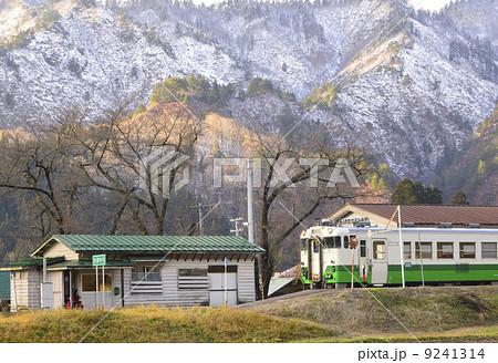 会津中川駅1の写真素材 [9241314...