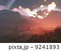 異星の山岳地帯(赤) 9241893