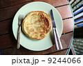 Pancake in wood background 9244066
