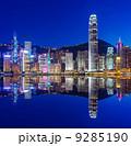 夜景 ブルー 青の写真 9285190