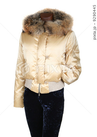 Female jacket with a hoodの写真素材 [9290445] - PIXTA
