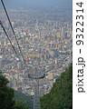 札幌街並み 札幌パノラマ 藻岩山もーりすカーの写真 9322314