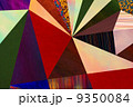 Abstract triangles geometric multicolored pattern, mosaic 9350084