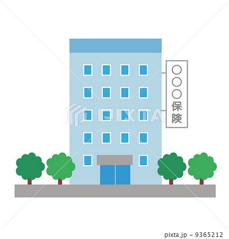 保険会社の建物 9365212