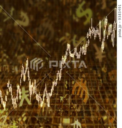 黄金通貨/外国為替と株価チャート 9383491