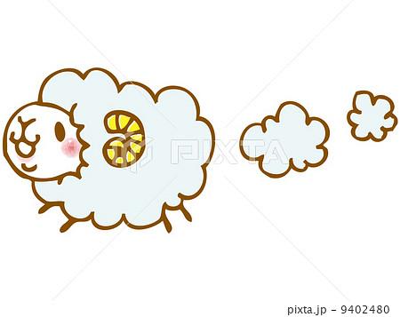 ふわふわ羊 9402480
