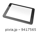 Beautiful black tablet pc on white background 9417565