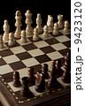 チェスボードに並べた駒 9423120