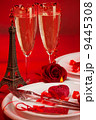 Romantic dinner in Paris 9445308