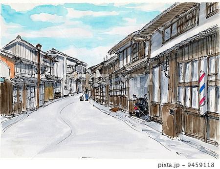 レトロな町・萩 9459118
