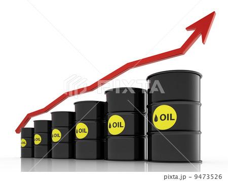 oil price rise conceptのイラスト素材 [9473526] - PIXTA