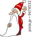 santa claus christmas cartoon illustration 9478532